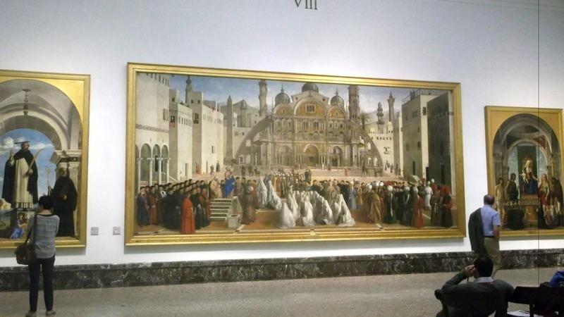 in the halls of di Brera 1