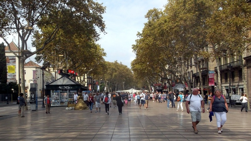 and of course the famous Las Ramblas