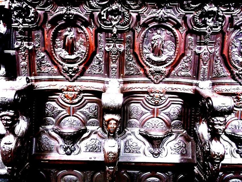 Choir stall detail
