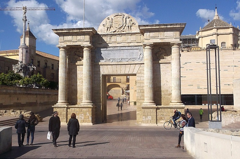 through 16th century bridge gate to City