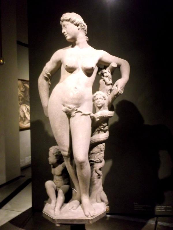 Eve and serpent (original)