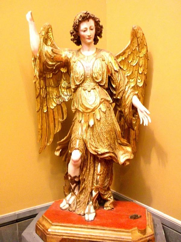 Now Naples Art Museum (archangel Michael) 14th c.