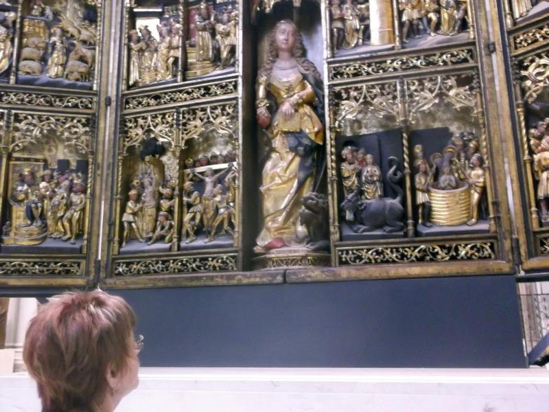 Medieval carvings & sculptures room