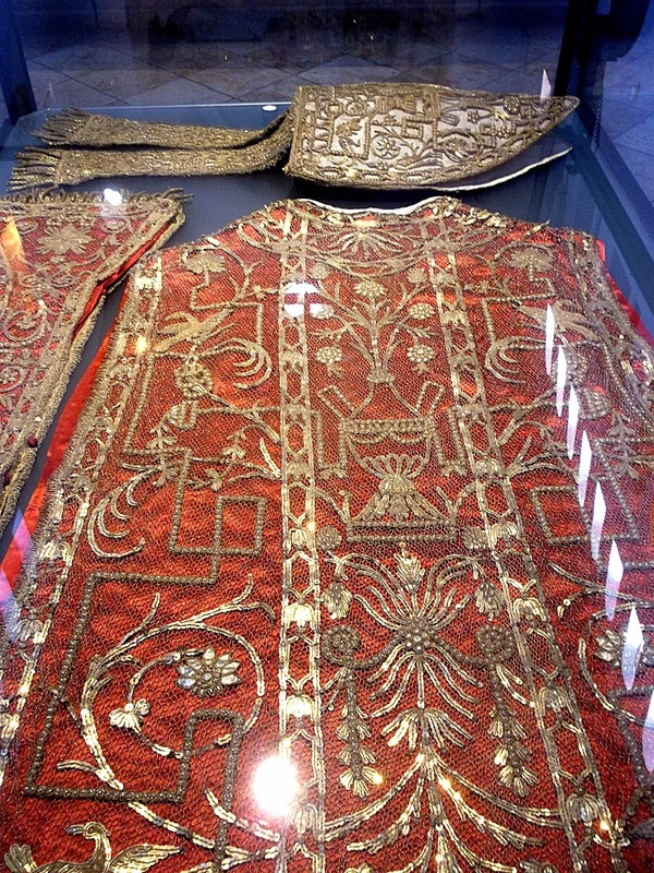17th century bishops vestments