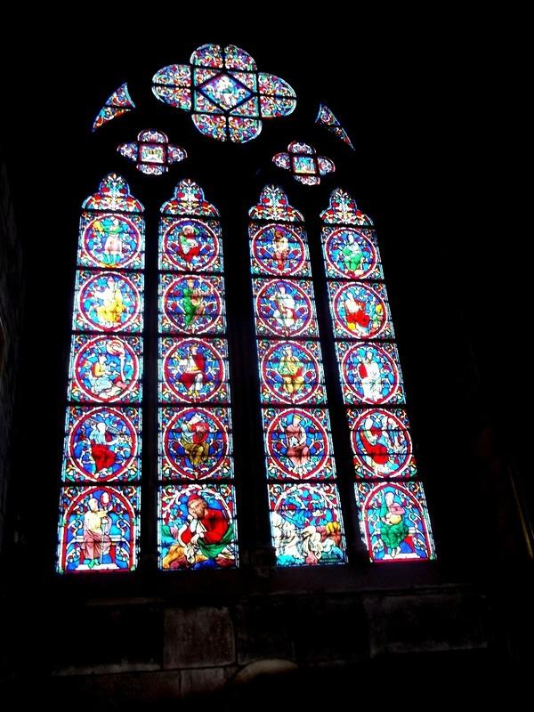 one of many beautiful windows