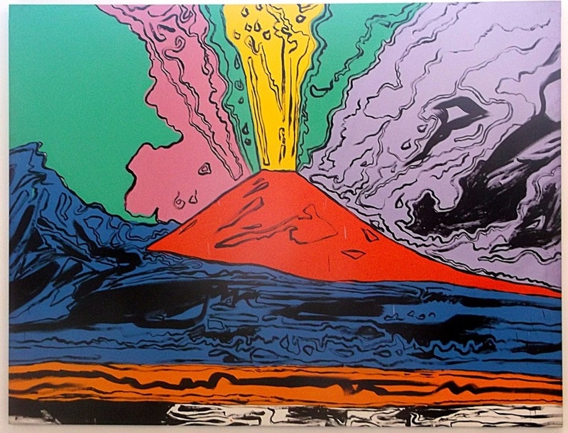 then there is Andy Warhol´s Vesuvius