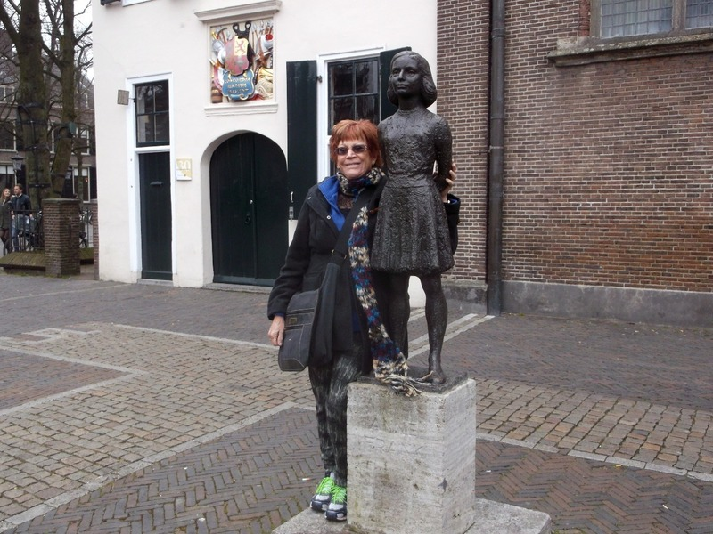 Me and Anne (in Utrecht)