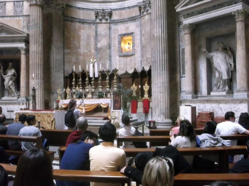 the chapel inside