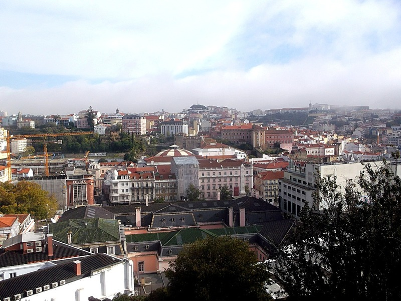with views over part of the city