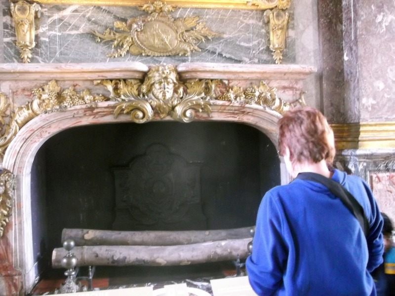 huge fireplaces