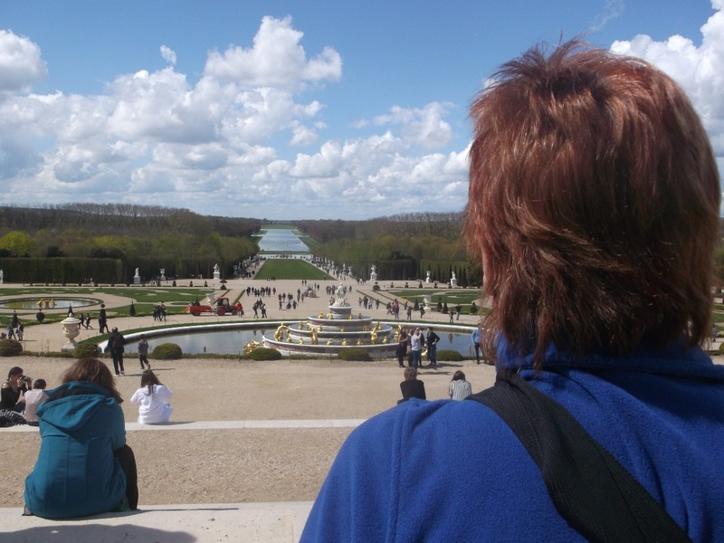 fountains and stunning views
