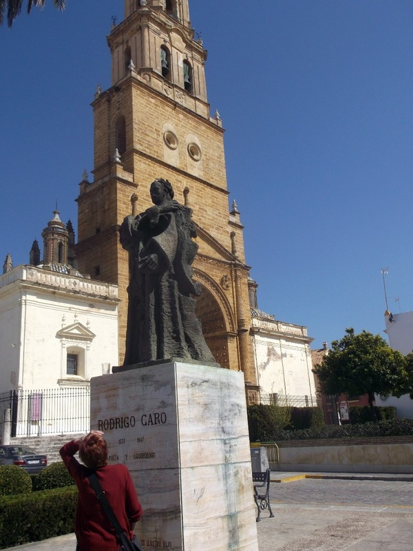 One of several churches in Utrera