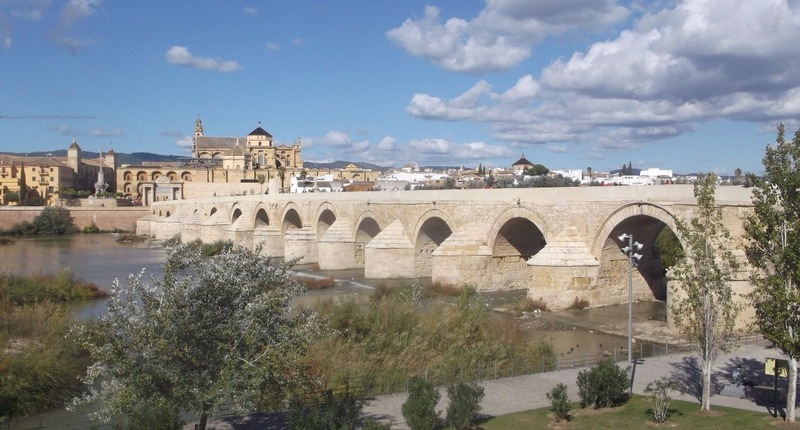 Roman bridge from Tower side