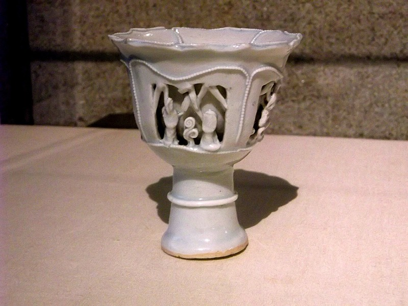 a priceless perfect 14th century Chinese cup..