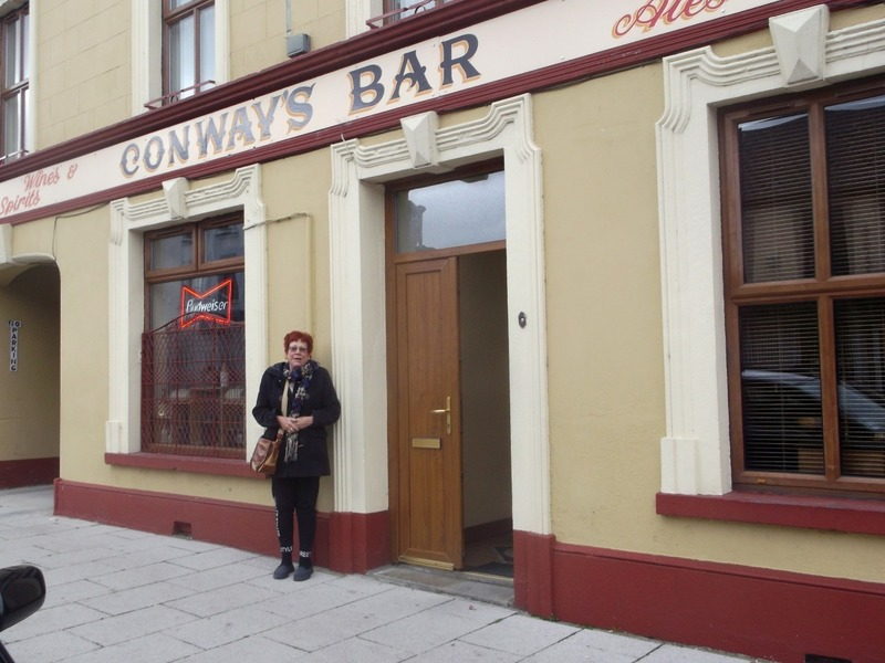Conways Bar where they have all the fun