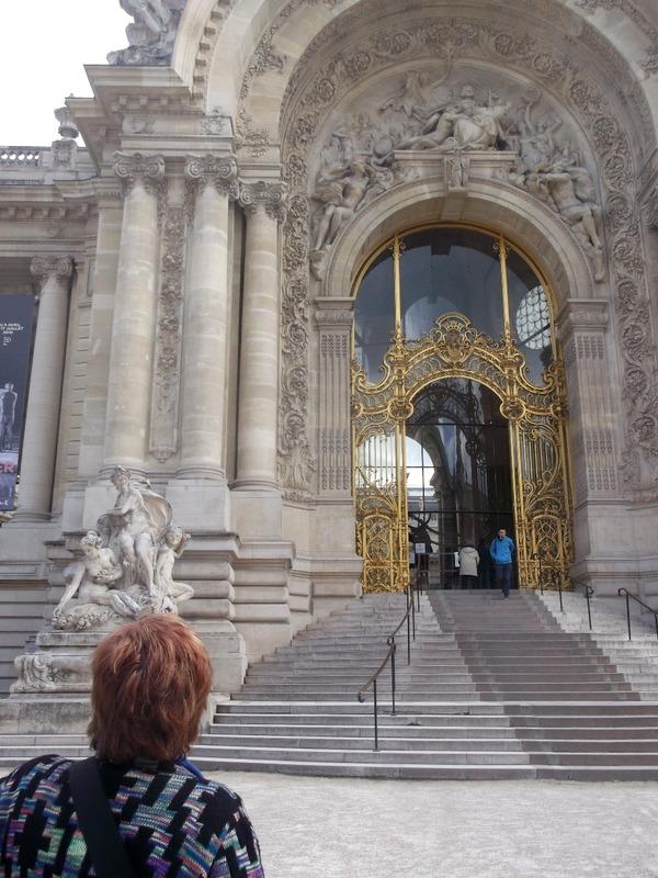 Front door to Petite Palais