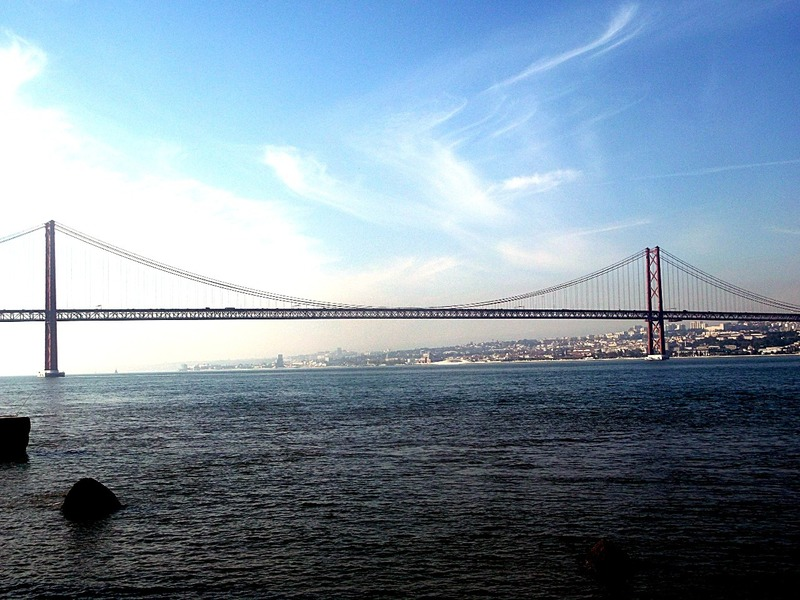 Lisbon´s suspension bridge ¨Ponte 25 de Abril¨