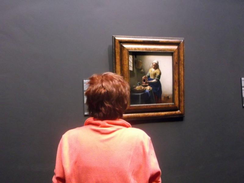 Vermeerś Milkmaid