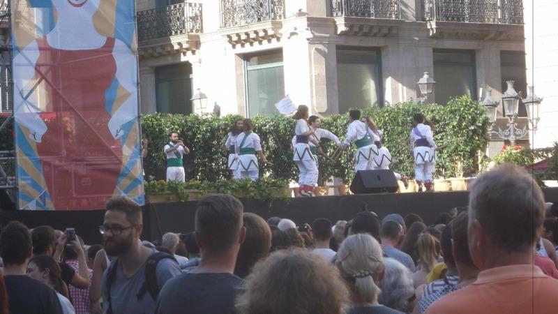 an hour of Spanish Morris dancing
