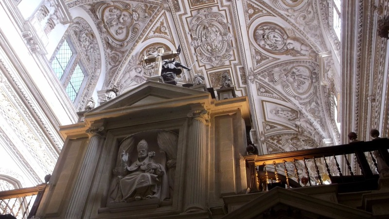 and glimpse the ceiling of the Cathedral