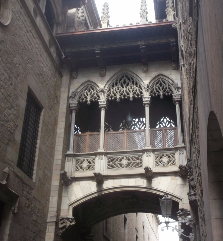 in the Gothic quarter