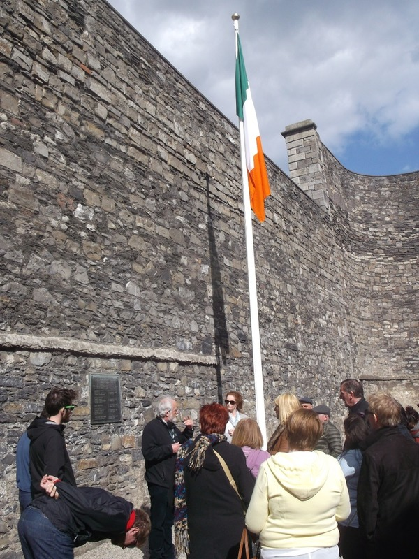 Yard where leaders of 1916 Uprising were executed.