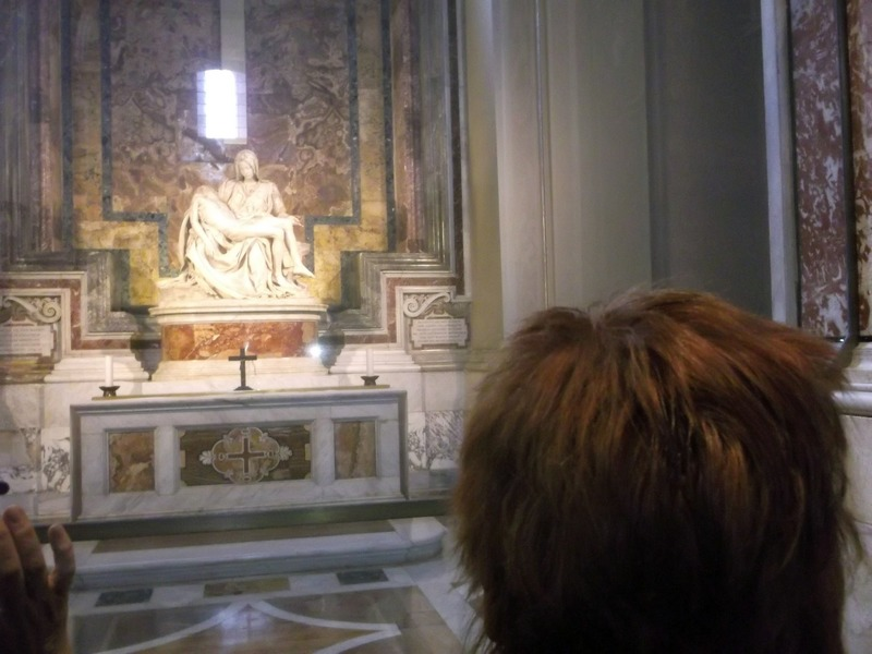 Pieta by Michelangelo at St Peters Basilica