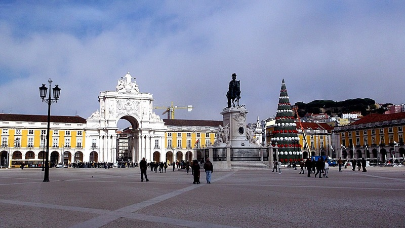 is one of the largest public plazas in Europe