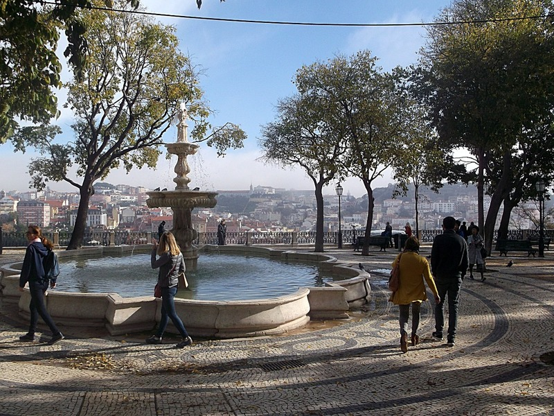 One of Lisbon´s lookout points