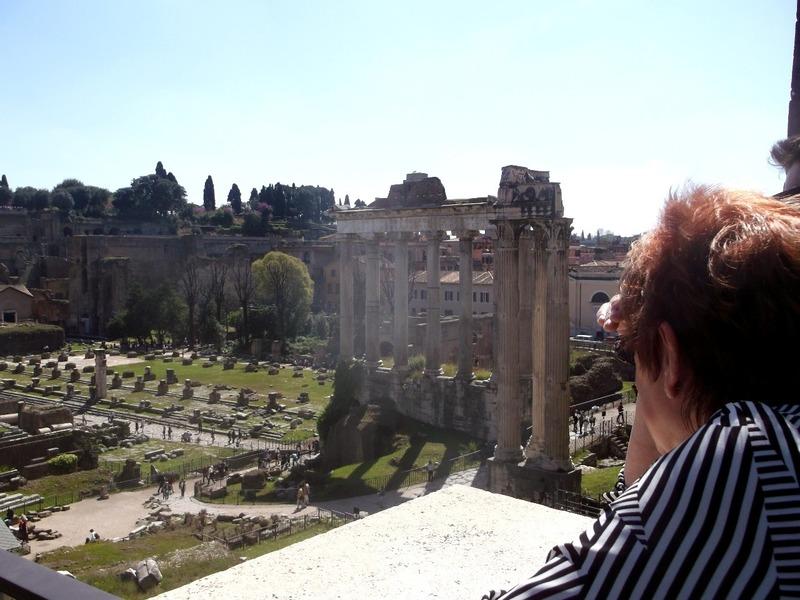 Palatine Hill ruins
