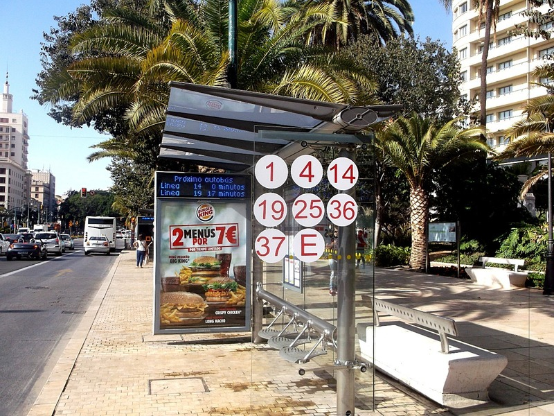how easy is that to find your bus stop