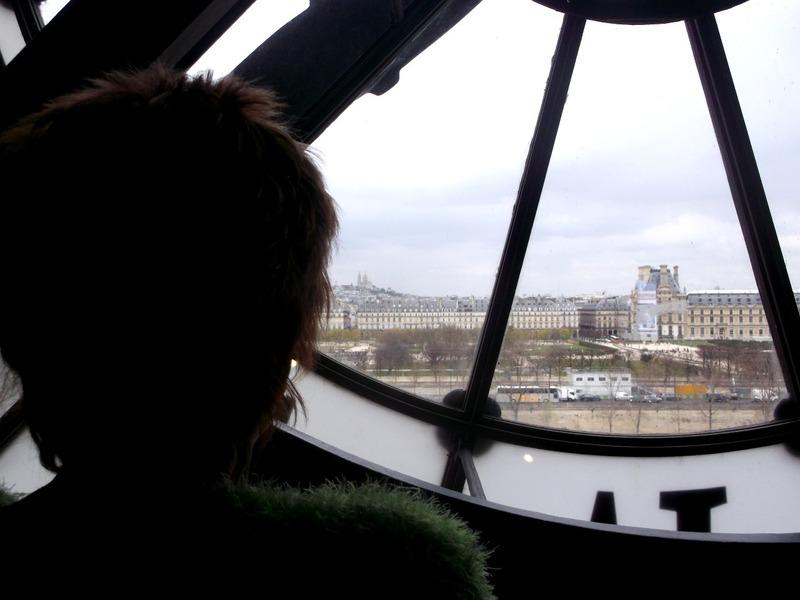 Paris through the Dorsay clockface