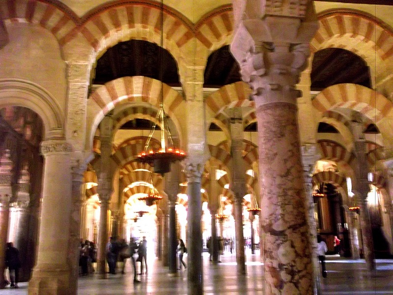 and used to create the Great Mosque of Cordoba