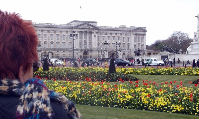 Spring is colourful at Buckingham Palace