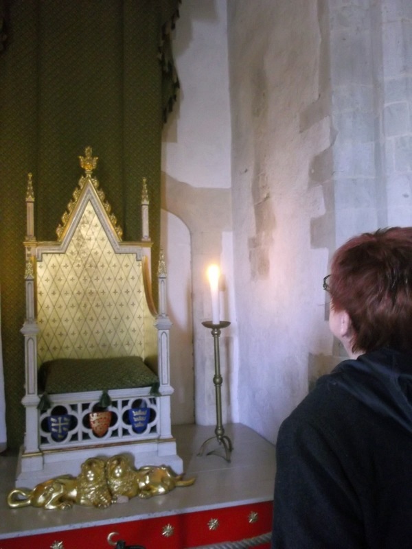 King Edwards 13th century Throne Room