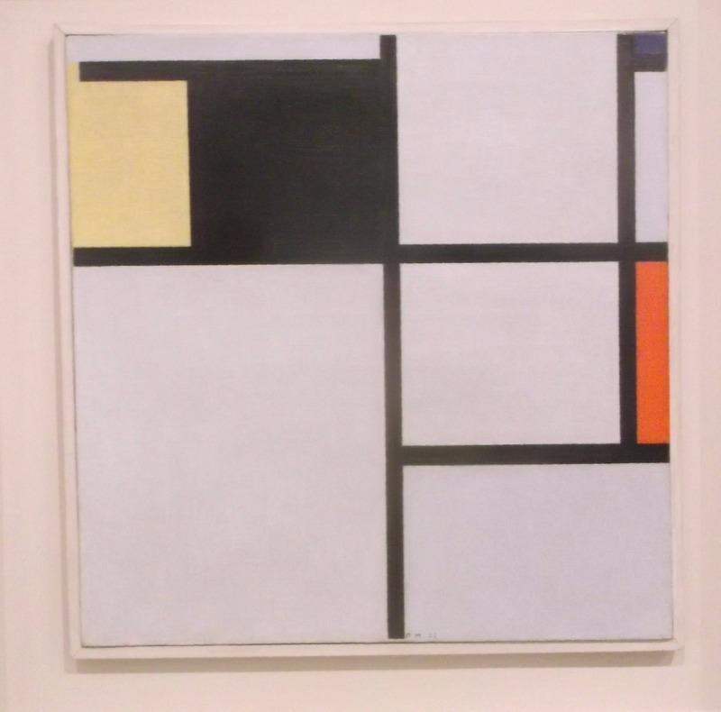 a perfect Mondrian