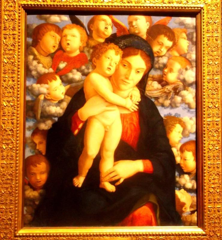 madonna of the cherubim 1485