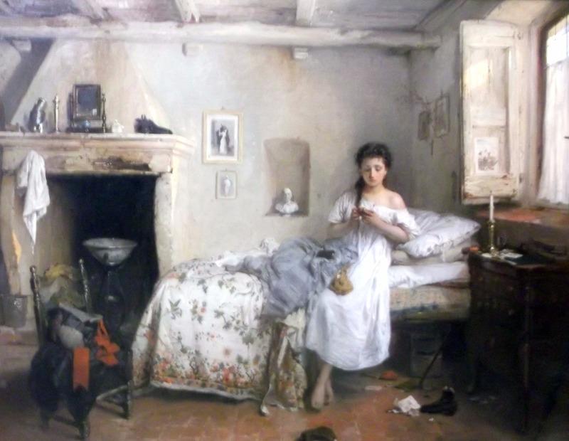 entitled Sadness (1862)