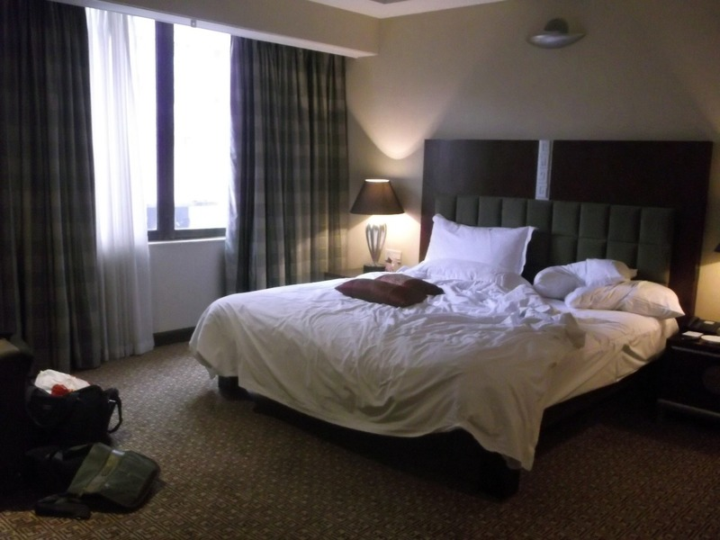 Alan's room after a good sleep
