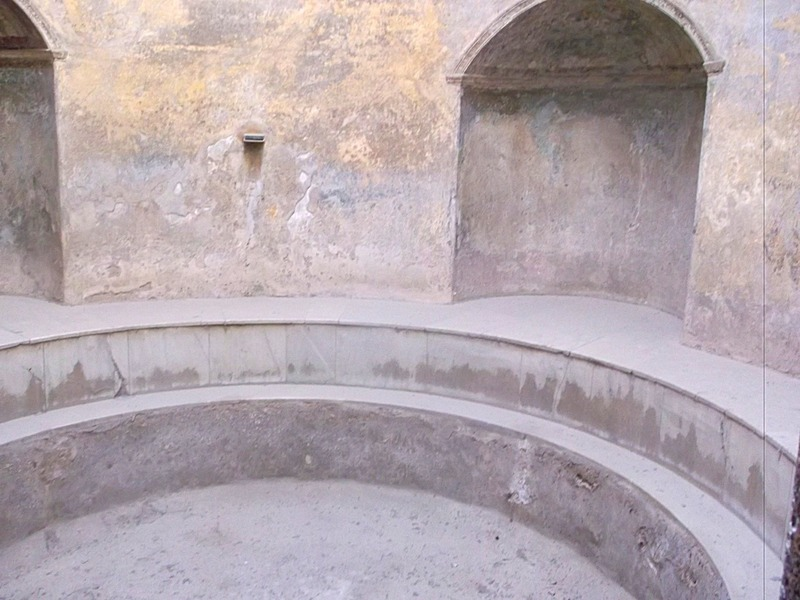 in the public bathhouse