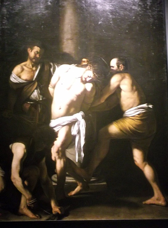 Caravaggio´s Flagellation of Christ 1607