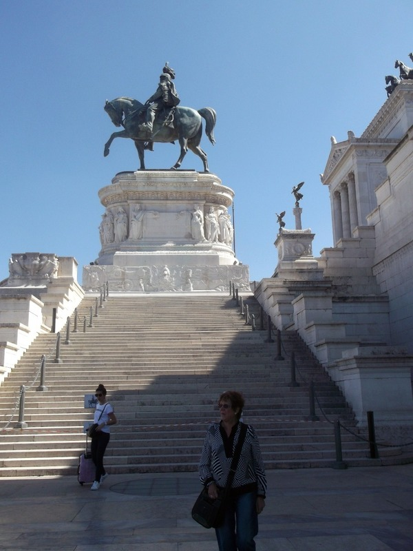 First King of Italy ( Vittorio Emanuele 11) and me