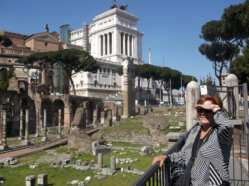 Part of the Palatine Hill ruins