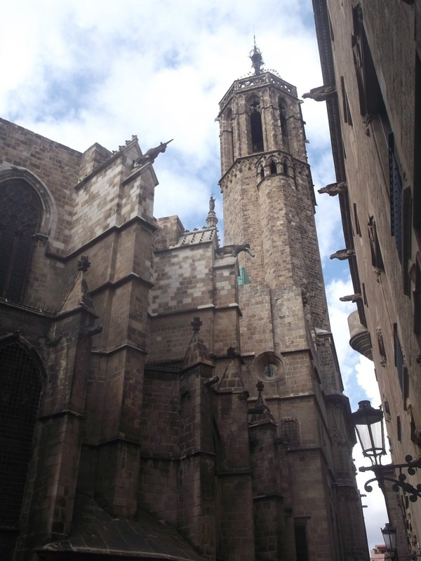 then its back to the Gothic quarter