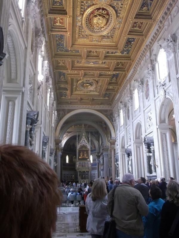 amazing golden ceiling