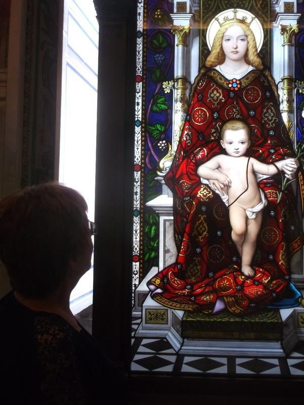 Beautiful vibrant Madonna and Child...