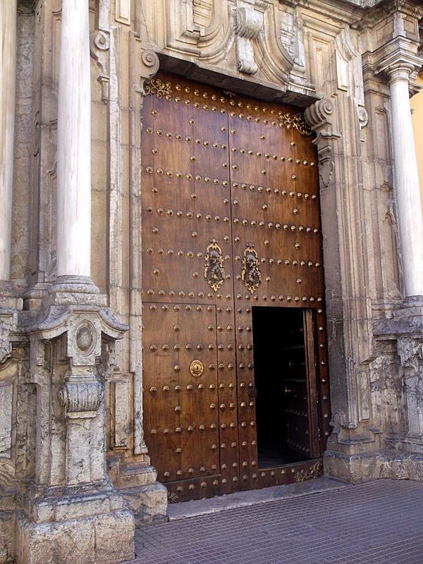door in Jewish Quarter