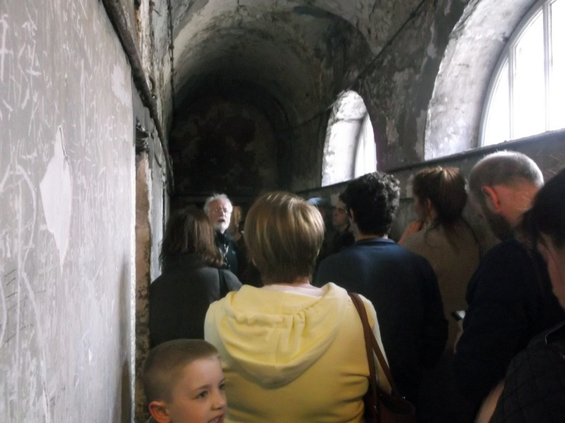 The 19th century cellblocks at Kilmainham Gaol