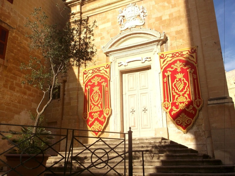 The first church used by Knights in Malta