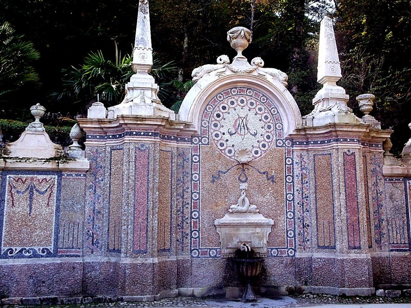 past the fountain of abundance
